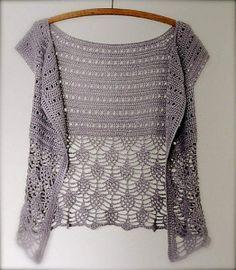 Crochet Lace Vest Free Pattern