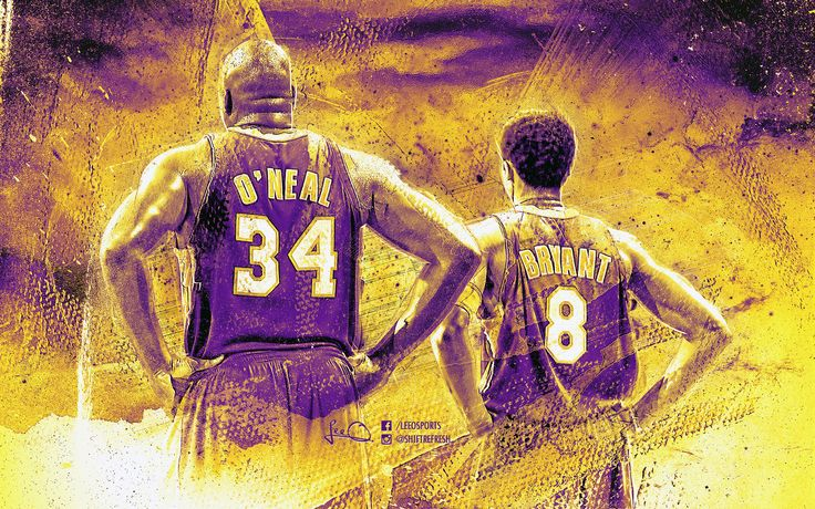 Shaq and Kobe Lakers Wallpaper by skythlee on DeviantArt