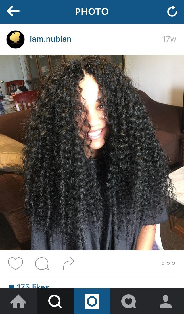 Deep Twist, long crochet, middle part