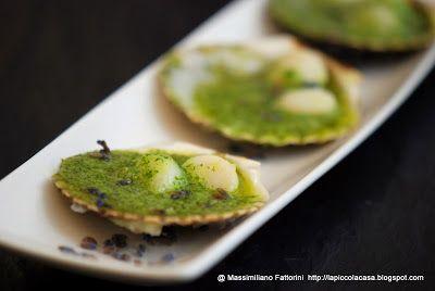 La Piccola Casa: I frutti di mare: canestrelli al forno con fiori d...