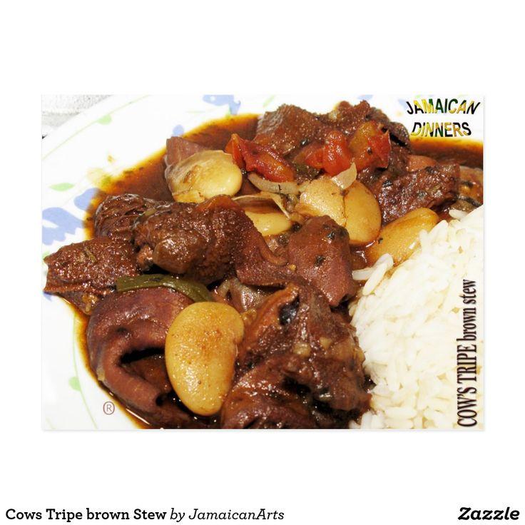 Cows Tripe brown Stew