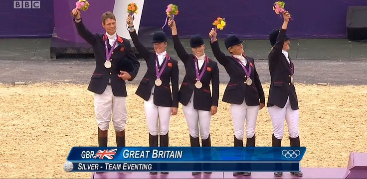 Team Great Britain, Silver, Equestrian Eventing London 2012