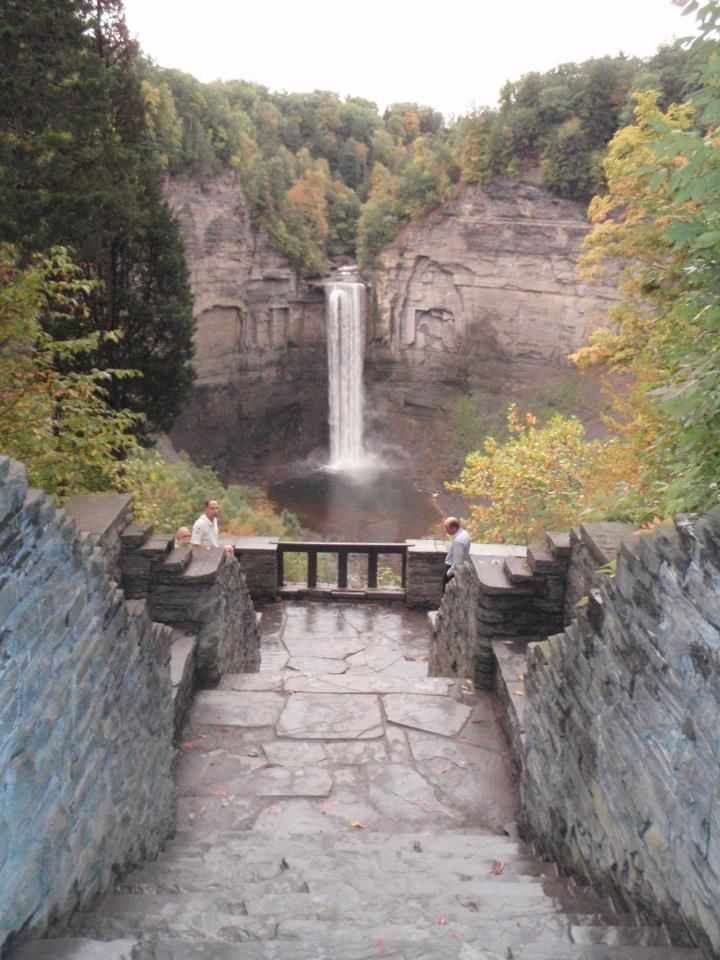 Taughannock Falls, Finger Lakes in upstate NY