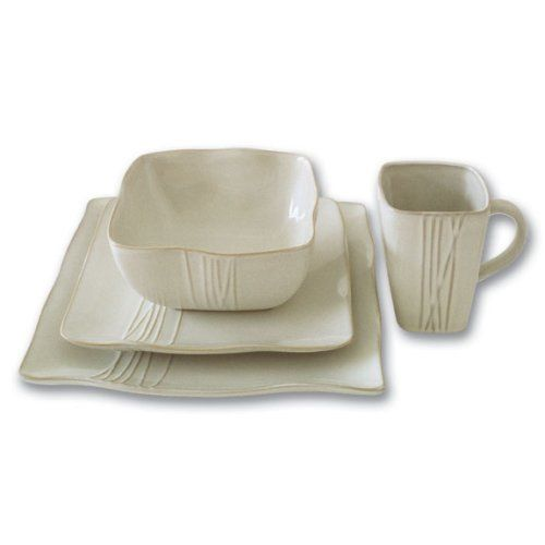 contemporary dinnerware | 16 Piece Contemporary Dinnerware Set - Buy Yang 16 Piece Contemporary ...