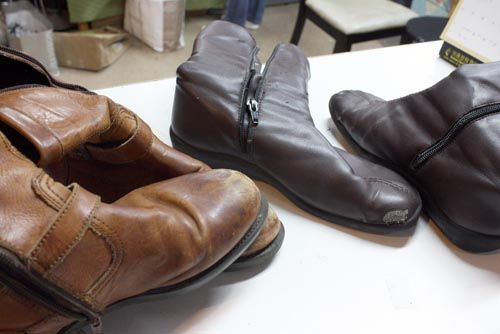 """Don't Replace! Repair Old Shoes to Save Resources and Cash- I completely agree with this. I've bought """"less than good shape"""" shoes at the thrift store then taken them straight away to get repaired. Some of my fav shoes I've handled this way."""