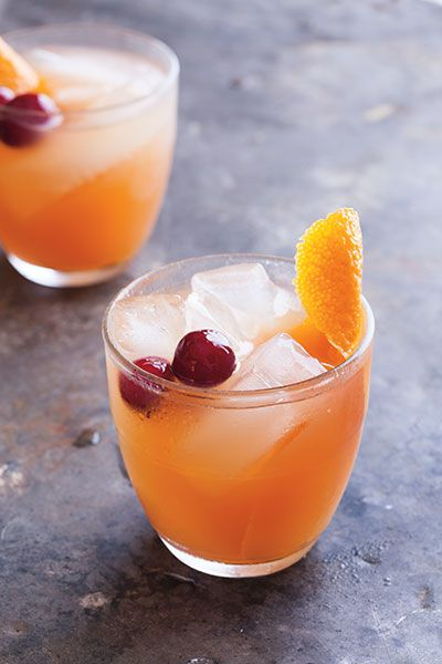 Cranberry Orange Vodka Punch