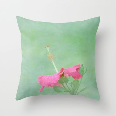 Red Hibiscus Decorative Pillow : 17 Best images about Accent pillows on Pinterest Applique pillows, Beach pillow and ...