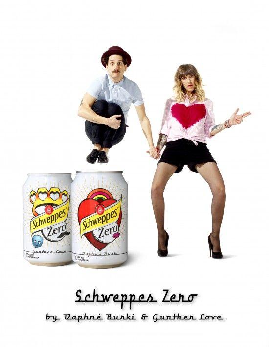 Schweppes Zero avec Daphné Burki & Gunther Love