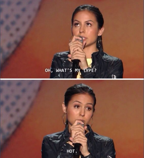 Anjelah Johnson. While this is hilarious and relatable I would like to say that beauty is subjective to persons......I am not saying that this means some people are unattractive just that beauty is in the eye of the beholder.