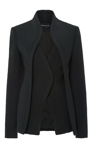 Suiting Cady Layered Suit Jacket by BRANDON MAXWELL for Preorder on Moda Operandi