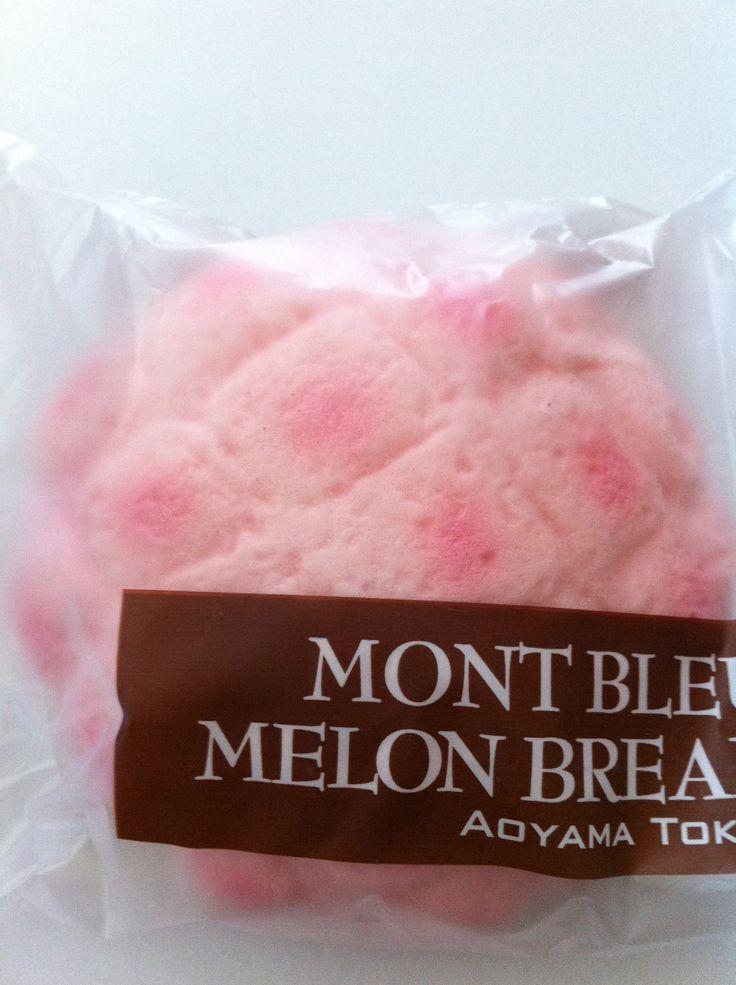 Aoyama Tokyo Pink Melon Bread Squishy
