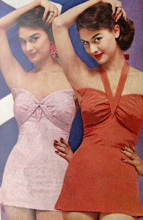 Love Fashion Love Vintage: Vintage Swimsuits Vogue 1955