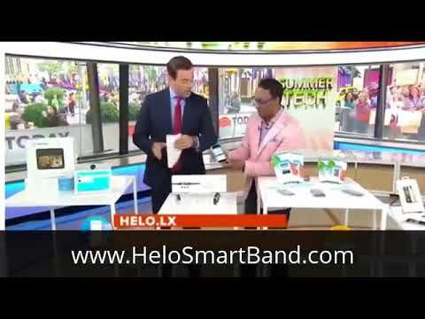 Helo LX on Today Show USA 25th July 2017.  #wor(l)d #25 #July #2017 #helo #helofx #today #show #usa #wearable technology #wearable #technology #fair #world #https://gogetters.helo.life #gogetters.helo.life@gmail.com #direct #network #marketing #health #wellness #fitness #financial #freedom #compensation #plan #david #bolton #canada #biometrics