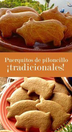receta de puerquitos de piloncillo | CocinaDelirante