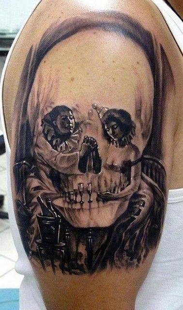 Optical Illusion Skull Tattoos 21.jpg