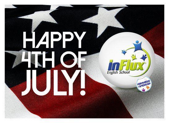 Hoje é dia 4 de julho.  Para nós, um dia comum. Mas para os norte-americanos, é o feriado mais celebrado da nação. É no dia 4 de julho que se comemora a declaração da independência dos EUA, que aconteceu lá em 1776.  A data é conhecida como Independence Day por lá, que significa Dia da Independência.