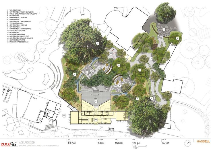 Contemporary Landscape Architecture Plan And More On Bathroom