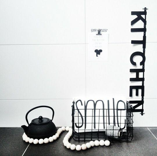 #Wordbanner #tip: #kitchen - Buy it at www.vanmariel.nl - € 11,95