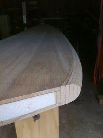 wooden surfboard