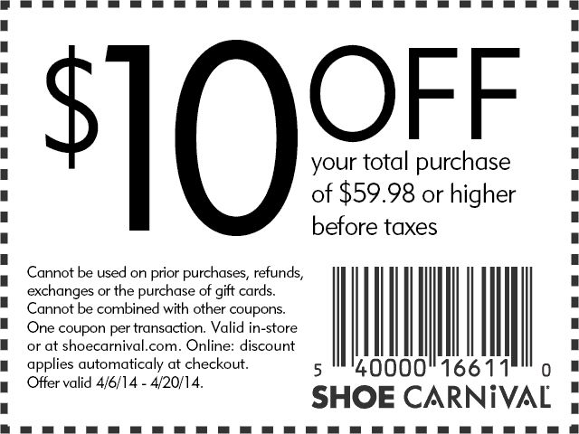... $20 Off $100 Shoe Carnival PRintable Coupon Printable Coupons   Coupon  Disclaimer Examples ...  Coupon Disclaimer Examples