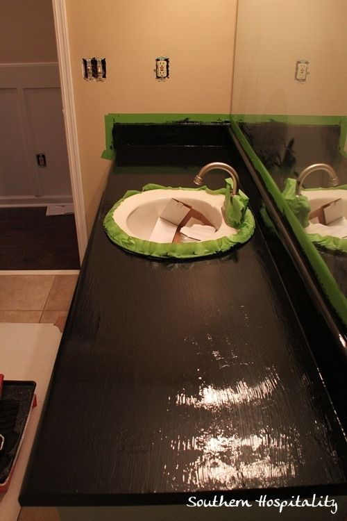 Rustoleum DIY Countertop love this I did this in my kitchen!