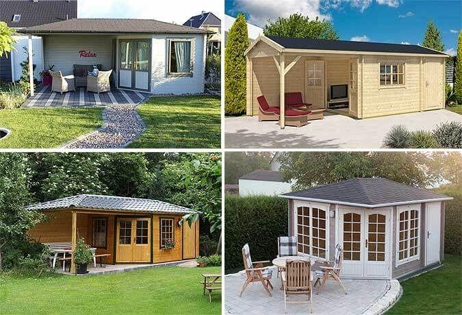 Gartenhaus Mit Anbau Satteldach in 2020 House styles