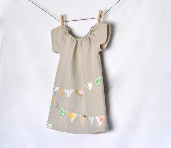 Bunting Dress by PunkinThreads