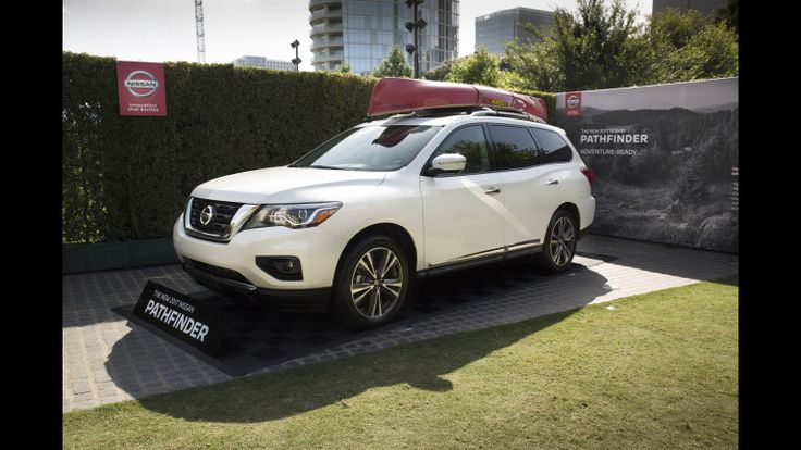 "DALLAS (July 7, 2016) – The 2017 Nissan Pathfinder, which goes on sale at Nissan dealerships nationwide this fall. The reveal of the new Pathfinder took place inside a pop-up ""#FindYourNewPath"" urban maze. #findyournewpath #nissan #pathfinder #Dallas #2017 #maze"