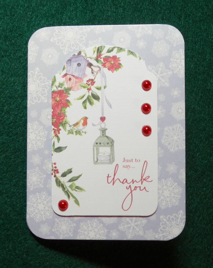 xGx:2014 Lucy Cromwell Christmas - topper on 3x5