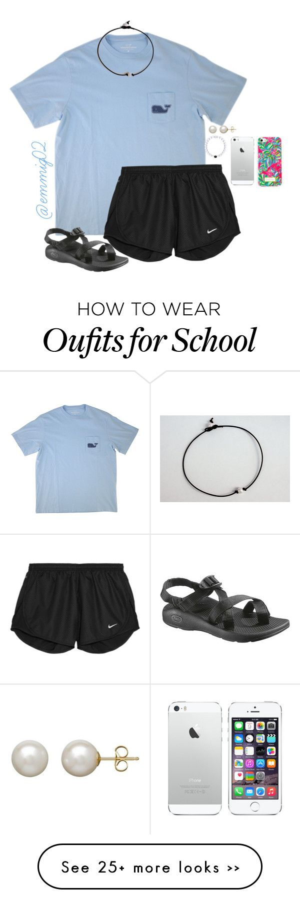 """""""OOTD first day of school"""" by emmig02 on Polyvore"""