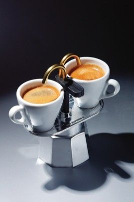 Bialetti Mini Express percolator ~ I would have bought this for you.