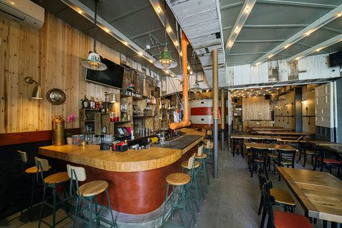 Red Hook Lobster Pound - The original outpost of Red Hook Lobster Pound has undergone an extensive renovation, and is no longer a simple seafood spot with counter service. Now it has a liquor license (and a bar to go with that) and a menu expanded to include dishes like lobster dip, lobster cheese fries, and a dry aged burger. The decor is hip nautical, and the bathroom is pretty bonkers