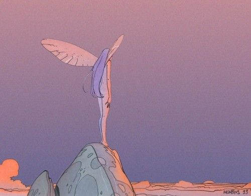 Moebius - Jean Giraud #comics #illustration #moebius