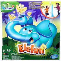 Hasbro: Elefun - Szentjánosbogár fújó elefánt társasjáték
