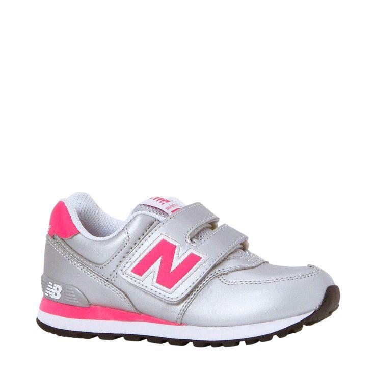 Musthave New Balance sneakers 574 (Zilver/roze) Sneakers van het merk New  Balance