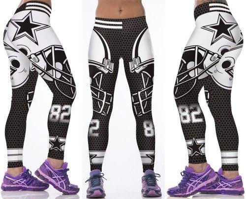 Dallas Cowboys NFL Sexy Womens Leggings Fitness Gym 2016