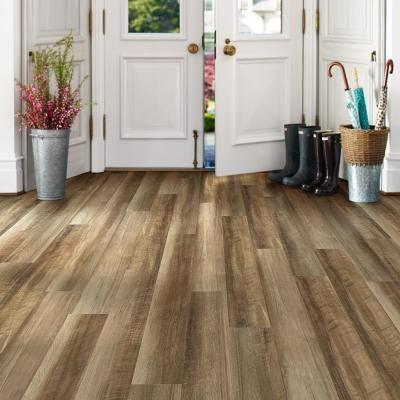 Shaw Baja 6 in. x 48 in. Nevada Repel Waterproof Vinyl Plank Flooring (23.64 sq…