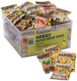 Haribo Gold Bear Minis (My husbands favorite snack!)