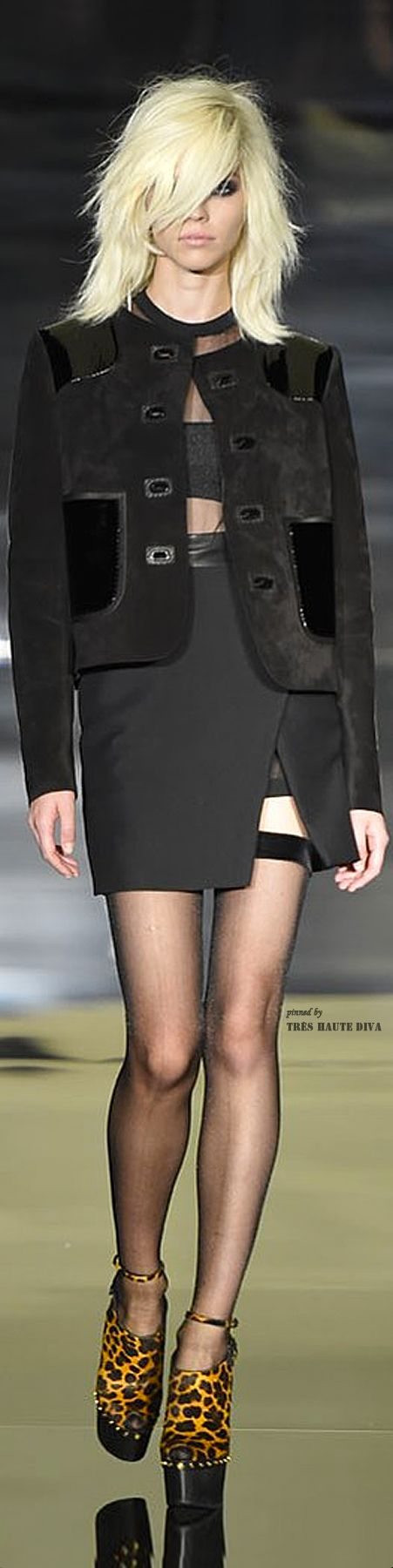 Tom Ford Spring 2015 Ready-to-Wear Fashion Show
