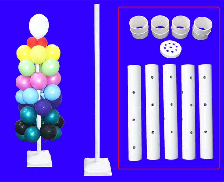 Cheap Balloon Display Stand with Water Bag holds 100Pcs Balloons for Party 2015 Hot Sale