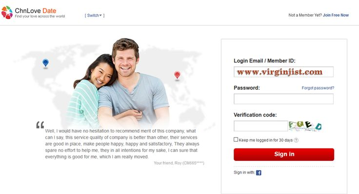 Dating websites without login