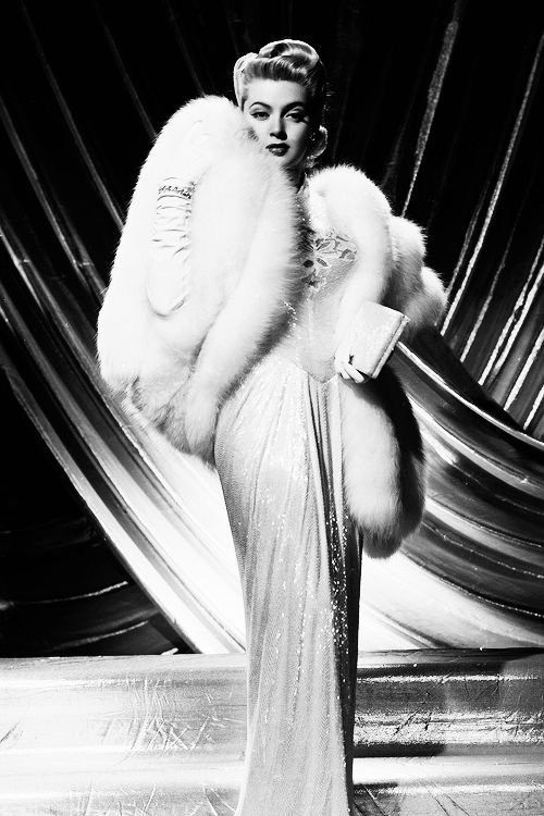 Lana Turner - Glamour in every way possible