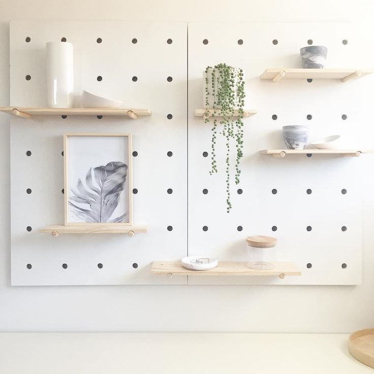 "lauren on Instagram: ""I caved and bought the @kmartaus pegboard (x2 ) for my bedroom!#yesthatsachipinthetoplefthandcorner #icouldntbebotheredtakingitback"""