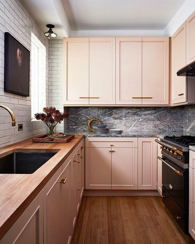 Pale Pink Kitchen Top Kitchen Designs Interior Design Kitchen Kitchen Design Trends