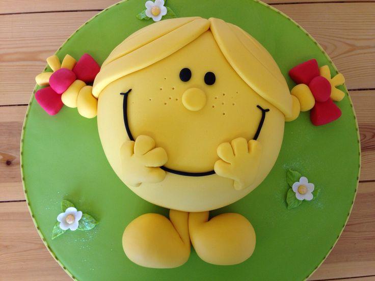 Little miss sunshine cake