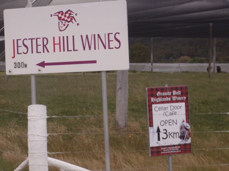 Jester Hill Wines in Severnlea, QLD