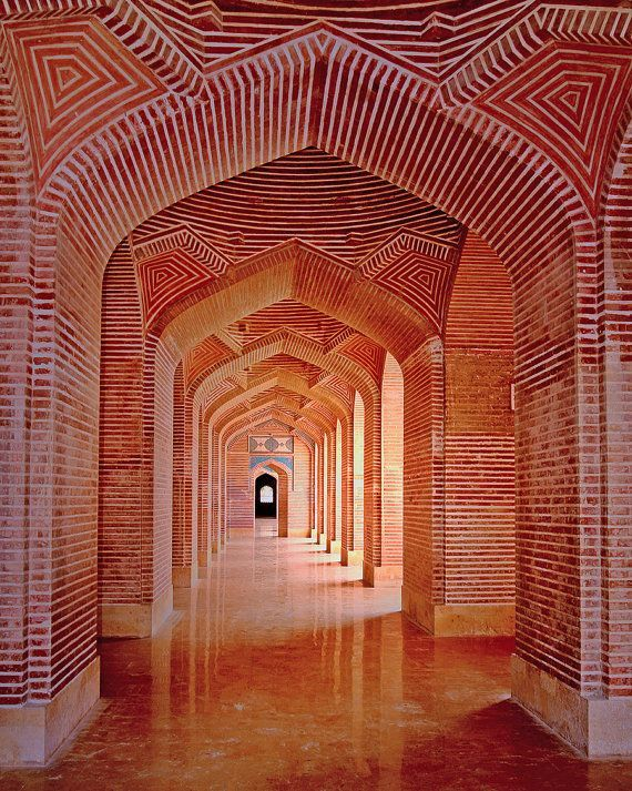 Shah Jahan Mosque, Thatta, Pakistan #travel