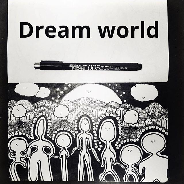 ryota_nobe_picture#11#dreamworld #art#note #goodmorning #夢の世界#夢 #みんなと #一緒#good#いいね #野邊遼太 #今日の一枚 #モレスキン #落書き#ペン#楽しい#005#03 #山#雲#太陽#そばにいるよ  #最高の1日#いい夢#ありがとう2017/09/08 07:18:26