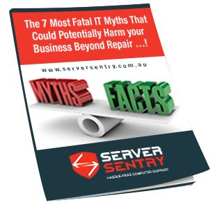 """Claim Your Complimentary Free Report The 'The 7 Most Fatal IT Myths That Could Potentially Harm your Business Beyond Repair …."""" Valued at $77 and receive a $2,385 bonus."""