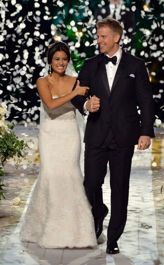The Bachelor got married!  Sean Lowe married Catherine Giudici, and he looked awesome in his Dolce & Gabbana tuxedo.